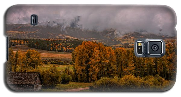 Galaxy S5 Case featuring the photograph Beyond The Road by Ken Smith