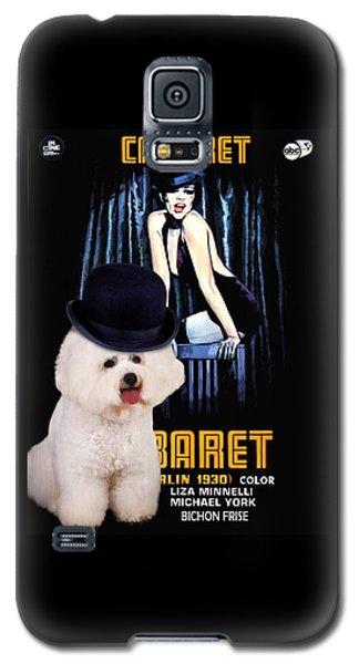 Bichon Frise Art - Cabaret Movie Poster Galaxy S5 Case