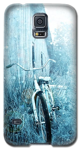 Bicycle In Blue Galaxy S5 Case