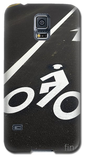 Bicycle Galaxy S5 Case - Bicycle Lane by Olivier Le Queinec