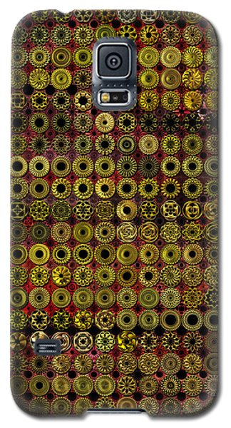 Biding Time In The Gold Flocked Basement Twixt Death And Funeral Galaxy S5 Case