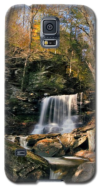 Big Autumn View At B. Reynolds Falls Galaxy S5 Case