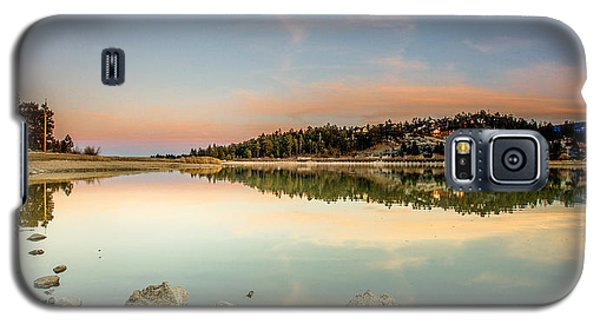 Galaxy S5 Case featuring the photograph Big Bear Lake by Robert  Aycock