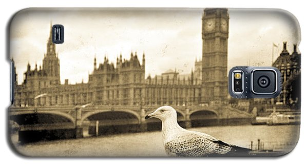 Big Ben And The Seagull Galaxy S5 Case