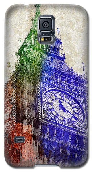 Big Ben London Galaxy S5 Case by Aged Pixel
