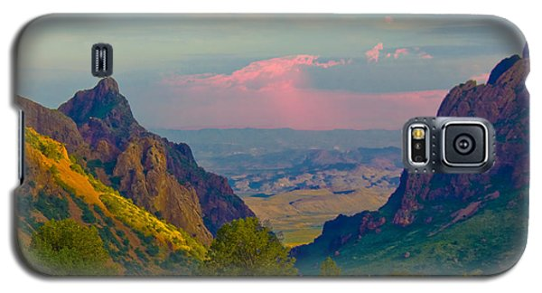 Big Bend Texas From The Chisos Mountain Lodge Galaxy S5 Case
