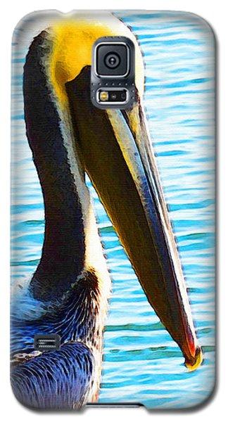 Big Bill - Pelican Art By Sharon Cummings Galaxy S5 Case