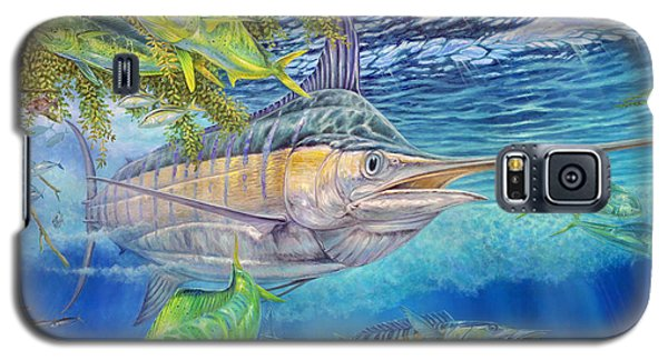 Big Blue Hunting In The Weeds Galaxy S5 Case
