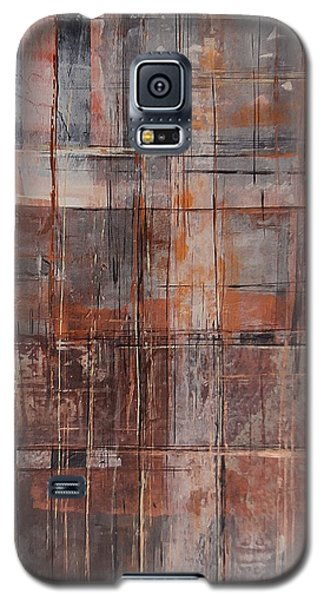 Galaxy S5 Case featuring the painting Big Box Town by Buck Buchheister