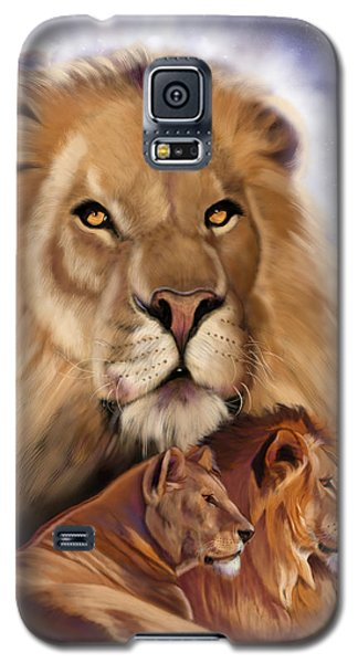 Third In The Big Cat Series - Lion Galaxy S5 Case
