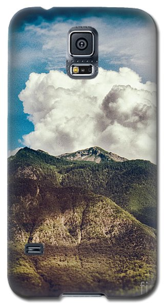 Big Clouds Over The Alps Galaxy S5 Case