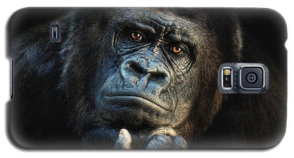 Gorilla Galaxy S5 Case - Big Dreamer by Joachim G Pinkawa
