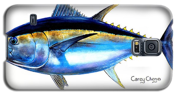 Swordfish Galaxy S5 Case - Big Eye Tuna by Carey Chen