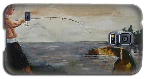 Catfish Galaxy S5 Case - Big Fish by Tom Dauria