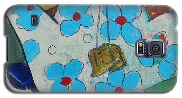 Big Floral Tea Pot Galaxy S5 Case