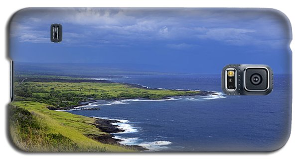 Galaxy S5 Case featuring the photograph Big Island Storm by Ed Cilley