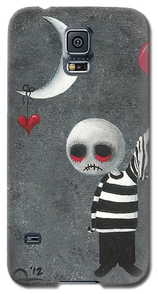 Big Juicy Tears Of Blood And Pain 4.1 Galaxy S5 Case by Oddball Art Co by Lizzy Love