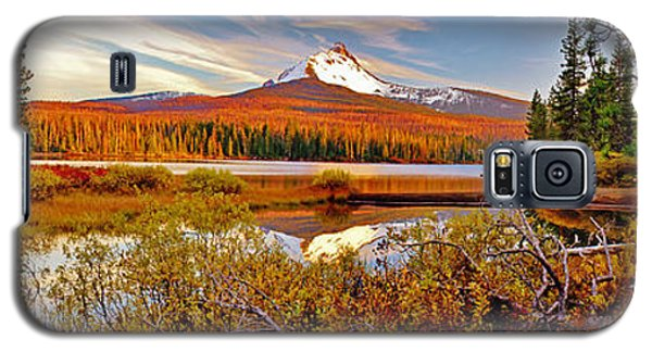 Big Lake And Mt Washington Oregon Galaxy S5 Case