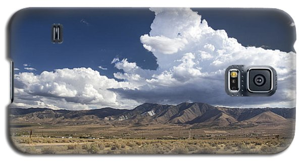 Big Mountains Bigger Clouds Galaxy S5 Case