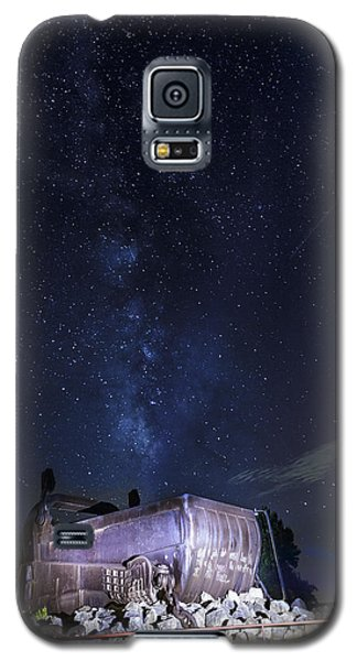 Big Muskie Bucket Milky Way And A Shooting Star Galaxy S5 Case