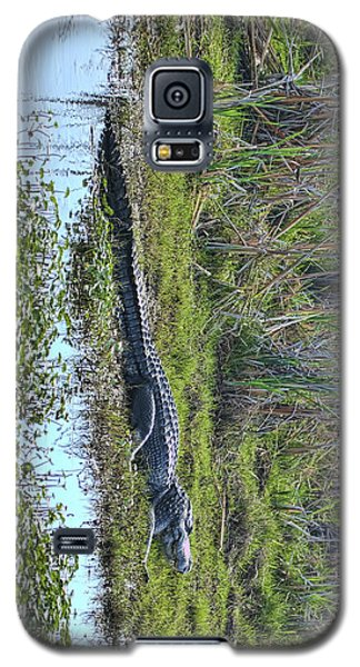Galaxy S5 Case featuring the photograph Big Old Gator by Gregory Scott