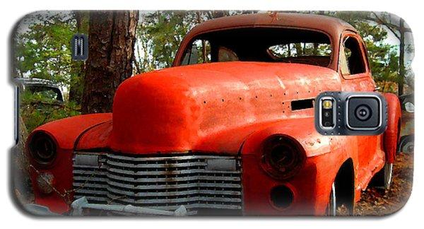 Big Orange Old Car Nose Galaxy S5 Case