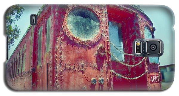 Big Red Car #4601 Galaxy S5 Case by Joseph Hollingsworth