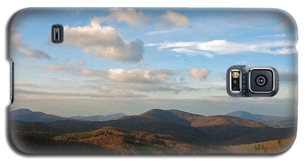 Galaxy S5 Case featuring the photograph Big Sky In Cashiers by Allen Carroll
