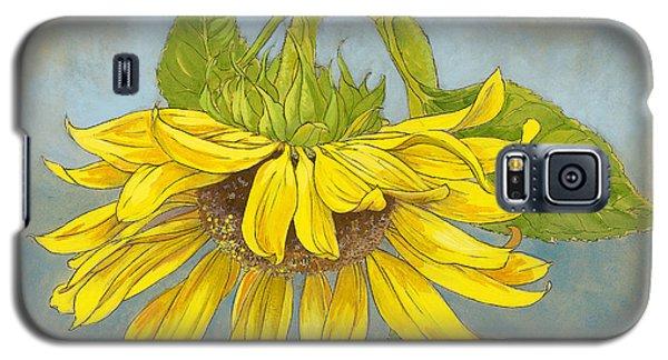 Big Sunflower Galaxy S5 Case by Tracie Thompson