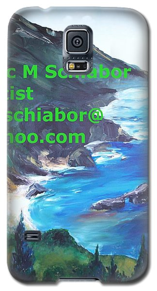 Big Sur Califorina Galaxy S5 Case by Eric  Schiabor