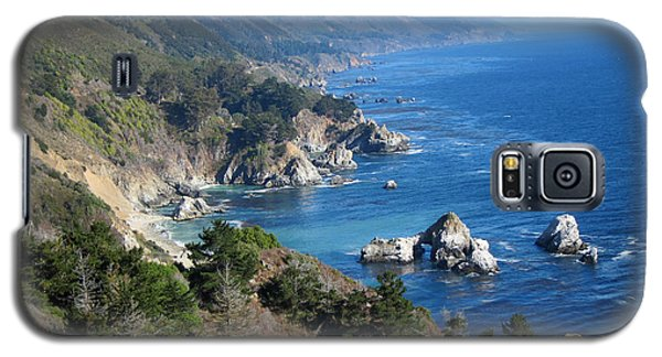 Galaxy S5 Case featuring the photograph Big Sur Coast Ca by Debra Thompson
