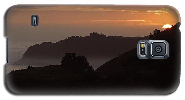 Big Sur Sunset Galaxy S5 Case