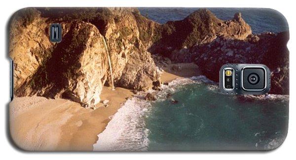Big Sur Water Falls Galaxy S5 Case by Marlene Rose Besso