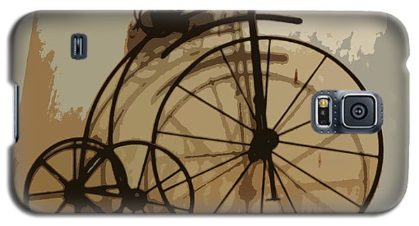 Galaxy S5 Case featuring the photograph Big Wheel Trike by Ecinja Art Works