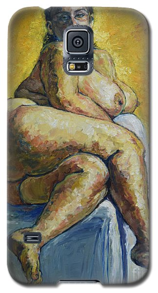 Big Woman Galaxy S5 Case