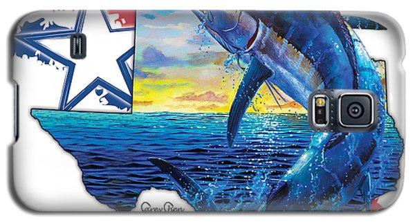 Swordfish Galaxy S5 Case - Bigger In Texas by Carey Chen