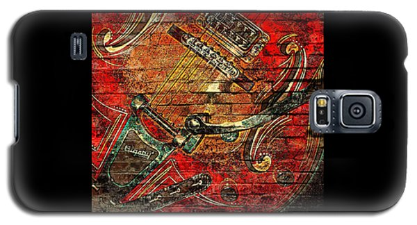 Bigsby Faux Mural Galaxy S5 Case by Chris Berry