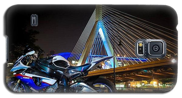Bike And Bridge Galaxy S5 Case