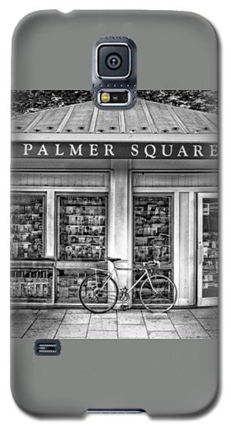 Bike At Palmer Square Book Store In Princeton Galaxy S5 Case