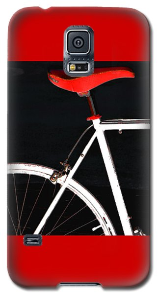 Bike In Black White And Red No 1 Galaxy S5 Case