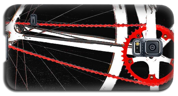 Bike In Black White And Red No 2 Galaxy S5 Case