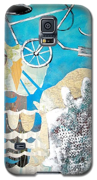 Bike Owl Galaxy S5 Case by Amy Sorrell