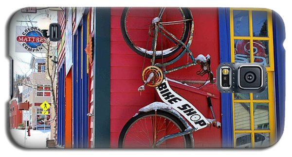 Galaxy S5 Case featuring the photograph Bike Shop by Fiona Kennard