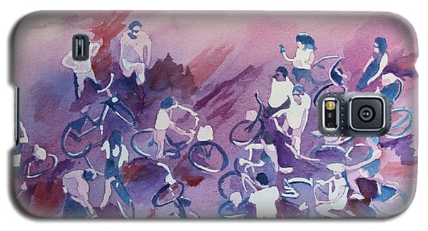 Bicycle Galaxy S5 Case - Bike Tour by Jenny Armitage
