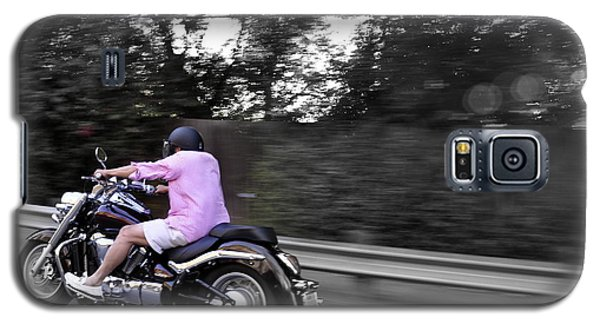 Galaxy S5 Case featuring the photograph Biker by Gandz Photography