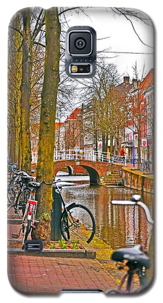 Bikes And Canals Galaxy S5 Case
