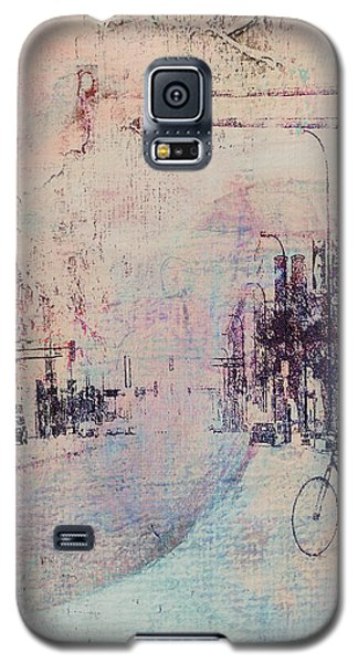 Biking In The City Galaxy S5 Case by Susan Stone