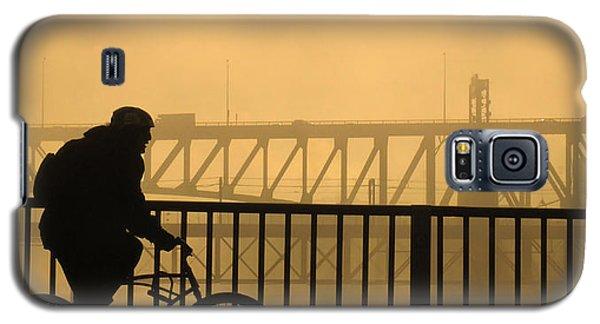 Biking The Bridges Galaxy S5 Case