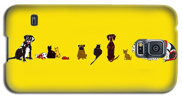 Bill And Friends Galaxy S5 Case