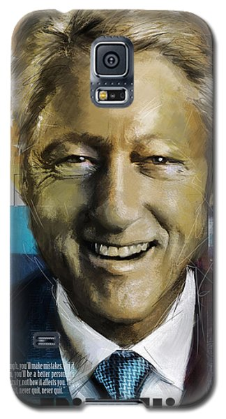 Bill Clinton Galaxy S5 Case by Corporate Art Task Force